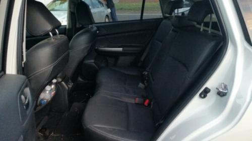 Wrecking 2015 Subaru Hatchback in white