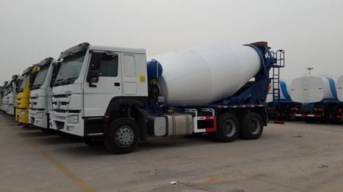HOWO Concrete Mixer Trucks