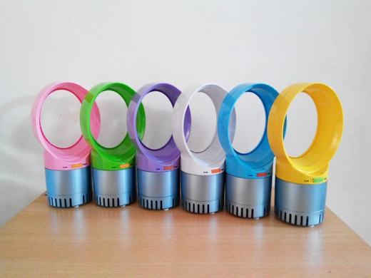 Colorful Mini Table Bladeless Fan usb