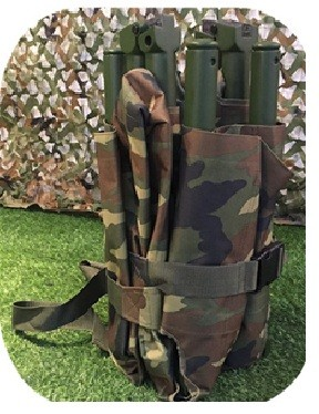 WSX-D8 Carbon Fiber Military Folding Stretcher